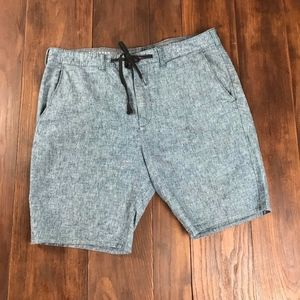 Bullhead Chambray Linen blend shorts